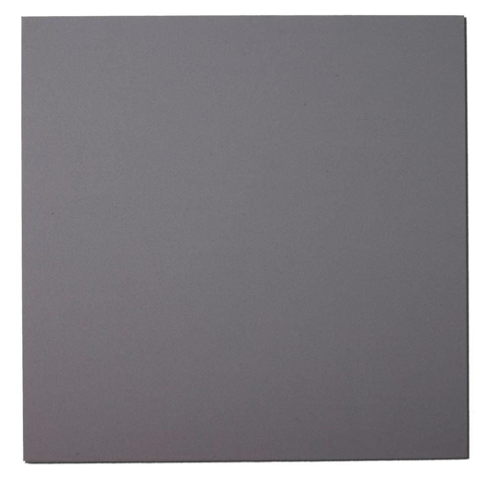 Grey Fabric Square 24 in. x 24 in. Sound Absorbing Acoustic