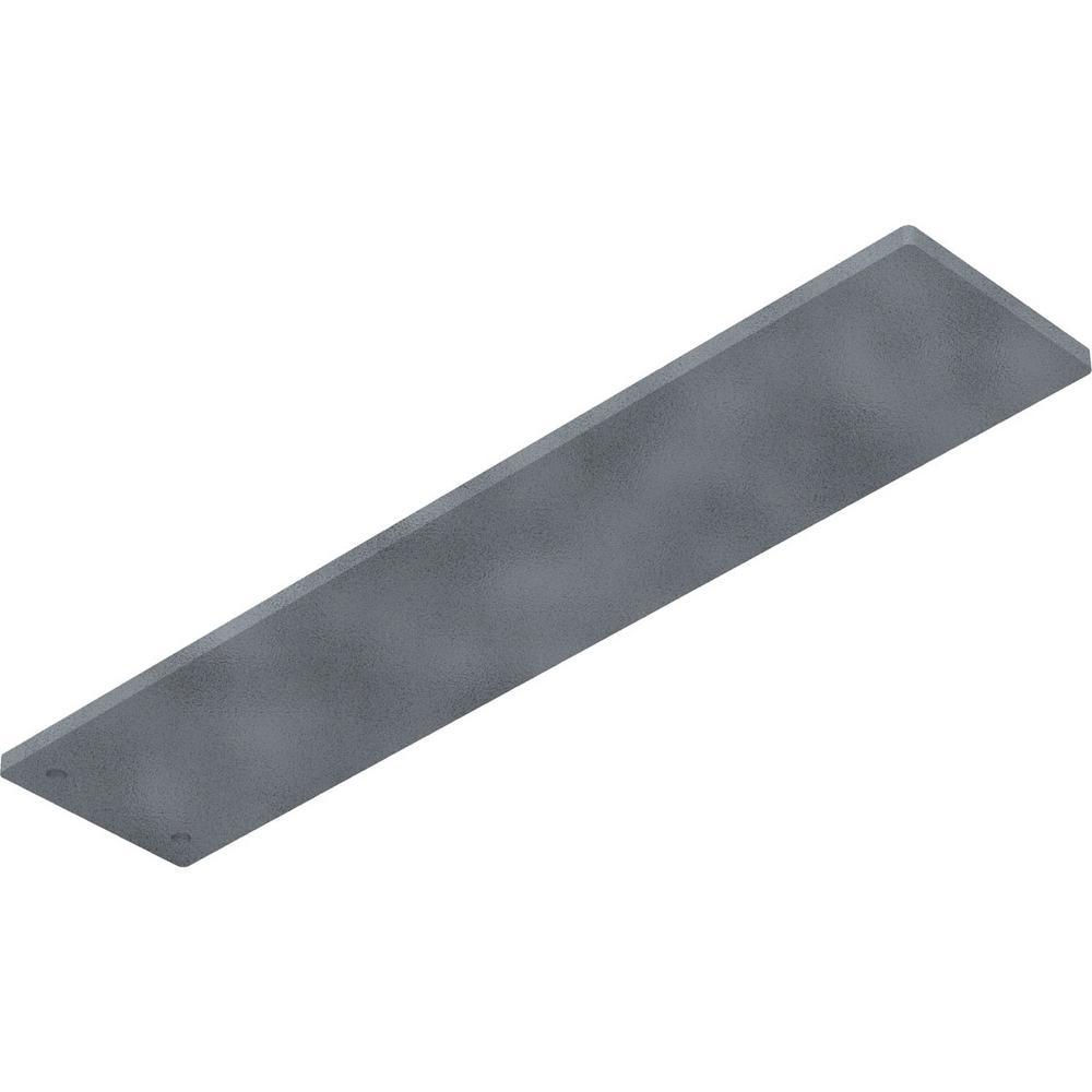 Ekena Millwork 0 25 In X 3 In X 14 In Steel Hammered Gray Logan Bracket Bktm03x14lohgy The Home Depot