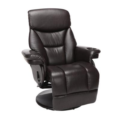Essentials Collection Home Entertainment Recliner, in Brown (ESS-7070-BRN)