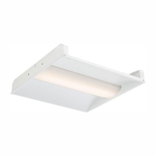 2 ft. x 2 ft. LED Volumetric White Troffer