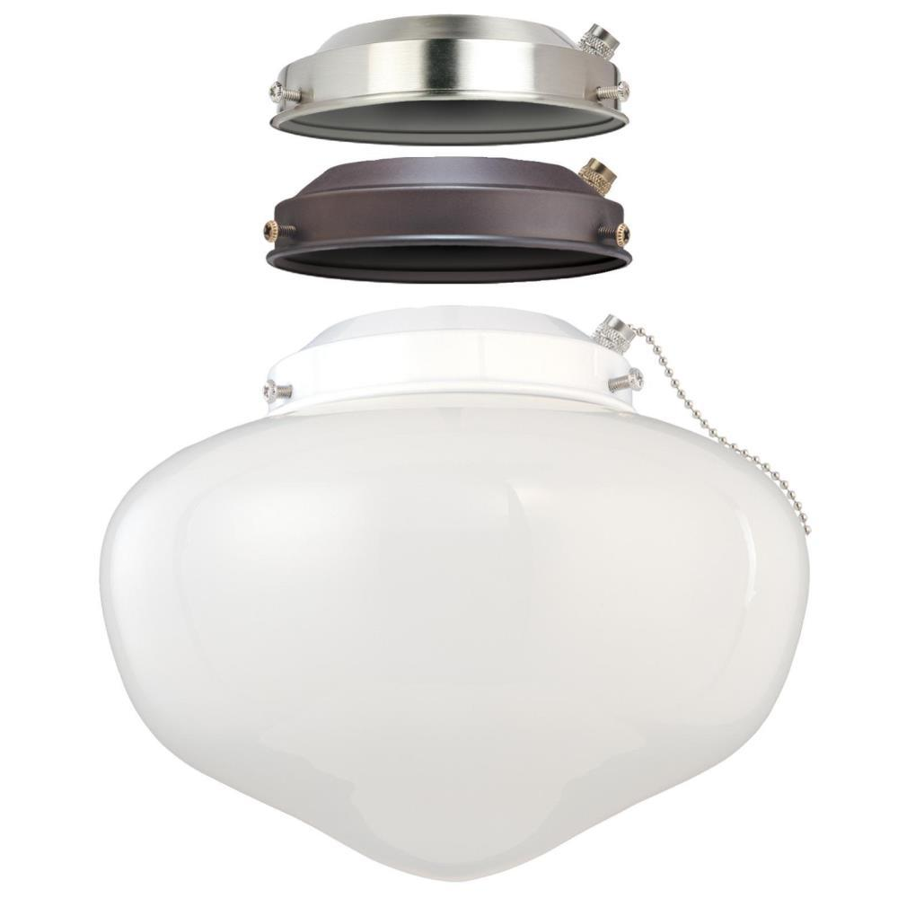 Westinghouse 1 Light Led Schoolhouse Ceiling Fan Kit