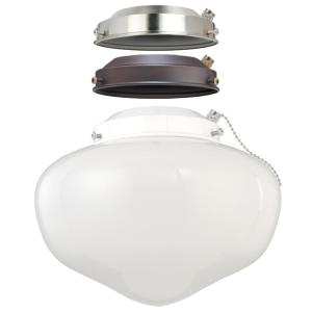 Westinghouse 1 Light Led Schoolhouse Ceiling Fan Light Kit