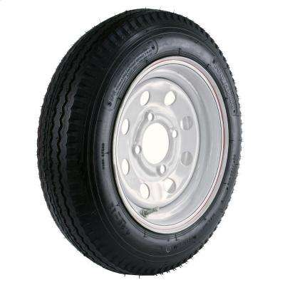 480-12 Load Range C 4-Hole Mod Trailer Tire and Wheel Assembly