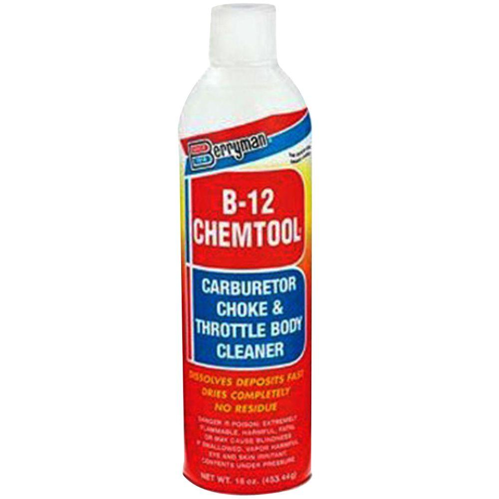 Berryman 16 Oz B 12 Chemtool Carb And Choke Cleaner 0117 The Home