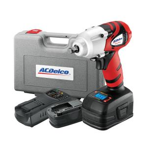 ACDelco 18-Volt Li-Ion 3/8 inch Impact Wrench with Digital Clutch Kit by ACDelco