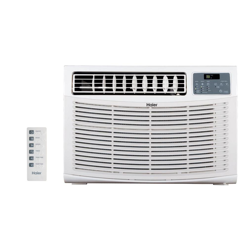 15,000 BTU High Efficiency Window Air Conditioner with Remote