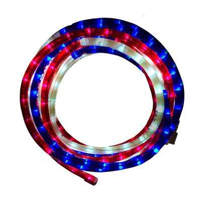 18 ft. Integrated LED Rope Light with UV Protection