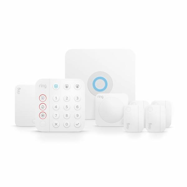 Ring Wireless Alarm Home Security Kit, (8-Piece) (2nd Gen)