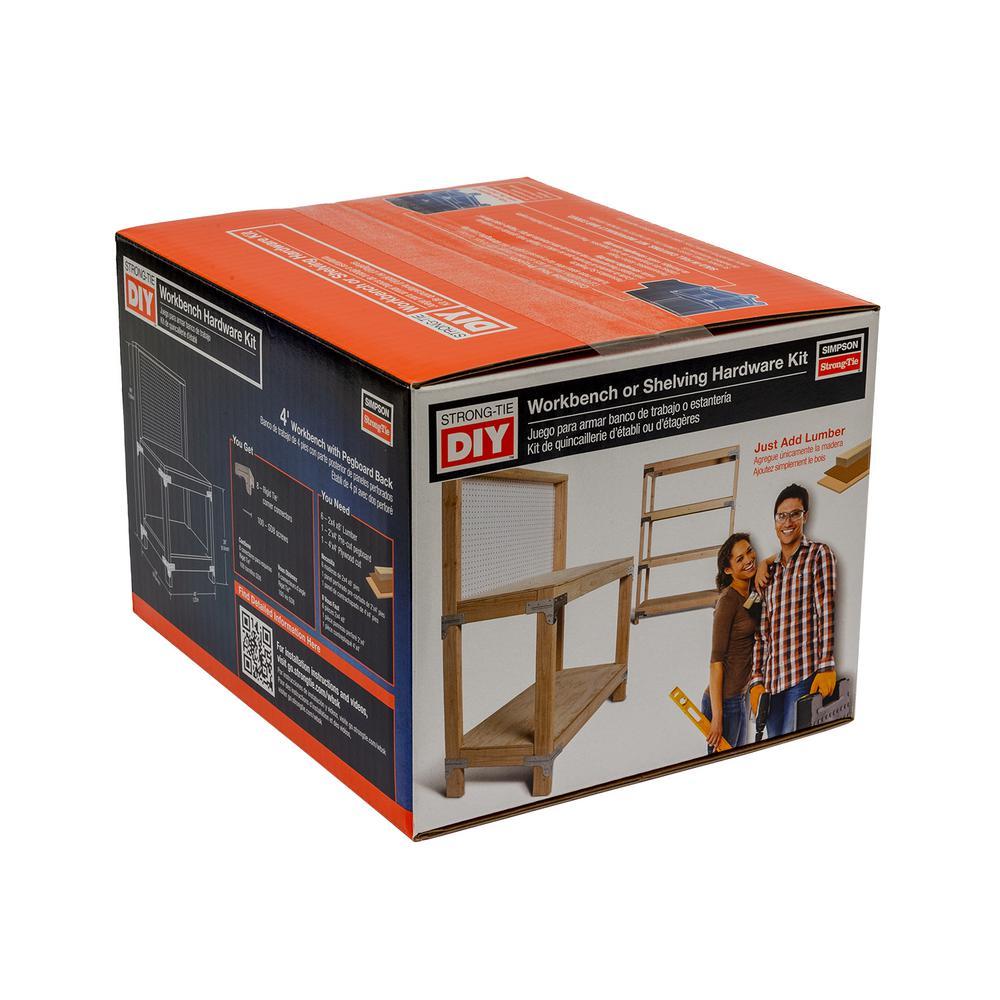 WBSK Workbench and Shelving Hardware Kit