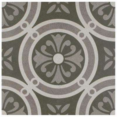 Vintage Classic 9-3/4 in. x 9-3/4 in. Porcelain Floor and Wall Tile (11.11 sq. ft. / case)