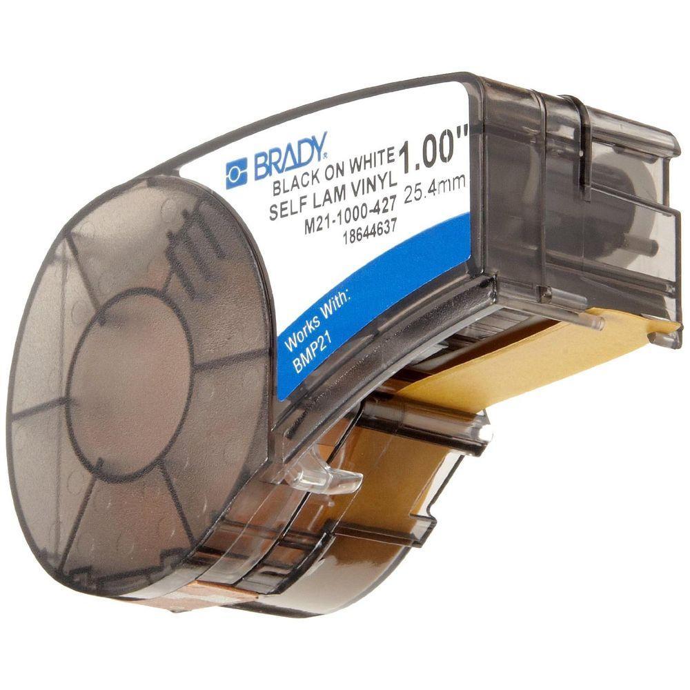 Bmp21 Brady Series Label Cartridge 1 In W X 3 8 In H