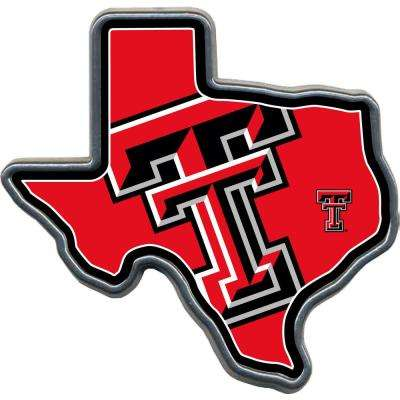 Texas Tech Texas Shaped Hitch Cover