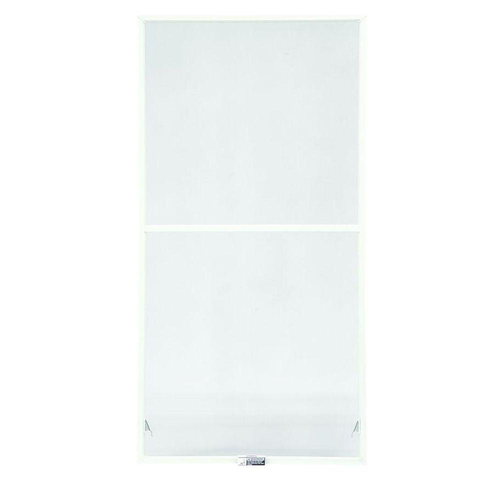 TruScece 39-7/8 in. x 34-27/32 in. White Full Double-Hung Insect Screen