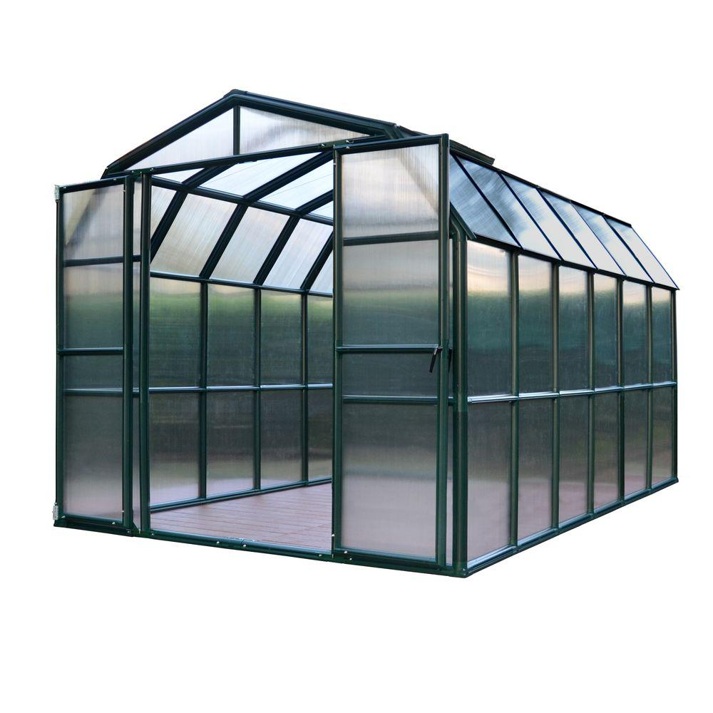 Rion Grand Gardener 8 ft. x 12 ft. Opaque Greenhouse