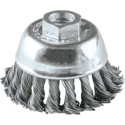 2-3/4 in. x 5/8 in.-11 Knot Wire Cup Brush