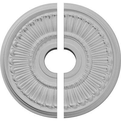 16 in. O.D. x 3-5/8 in. I.D. x 3/4 in. P Melonie Ceiling Medallion (2-Piece)