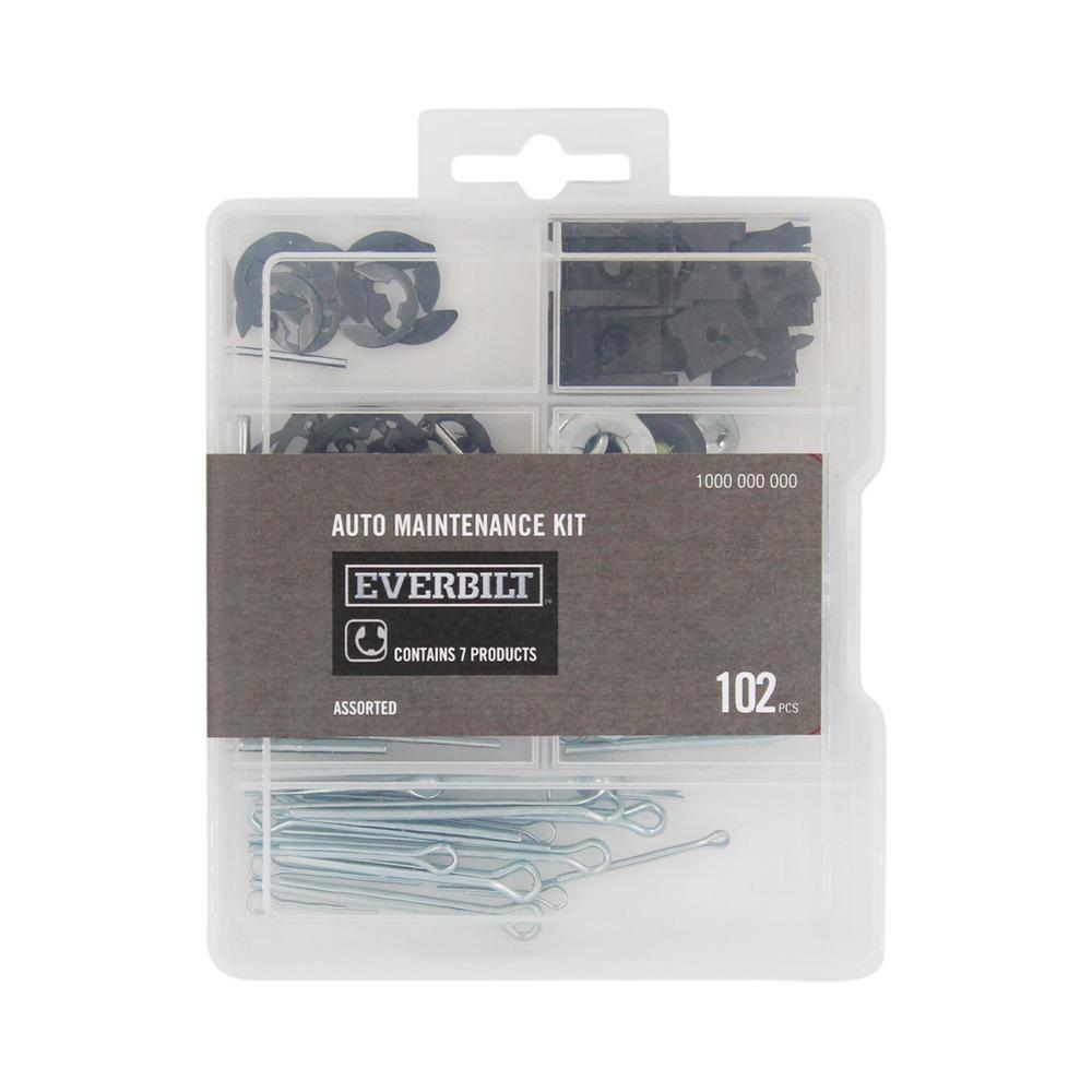 102-Piece Automotive Maintenance Assortment Kit