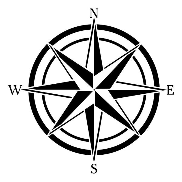 Critical image with picture of a compass rose printable