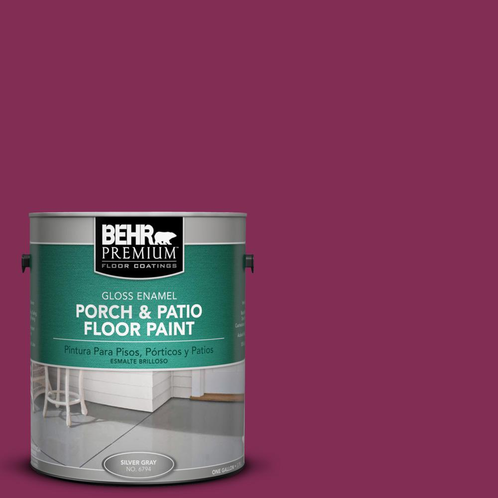 1 gal. #M130-7 Sugar Beet Gloss Porch and Patio Floor Paint