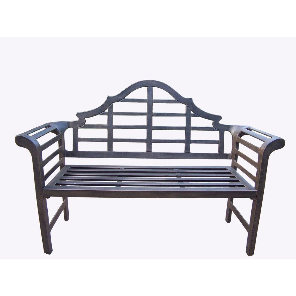 Oakland Living King Louis Patio Bench