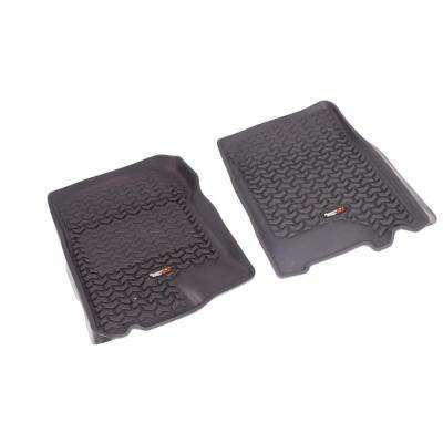 Floor Liner Front Pair Black 2002-2003 Ford F150/Expedition