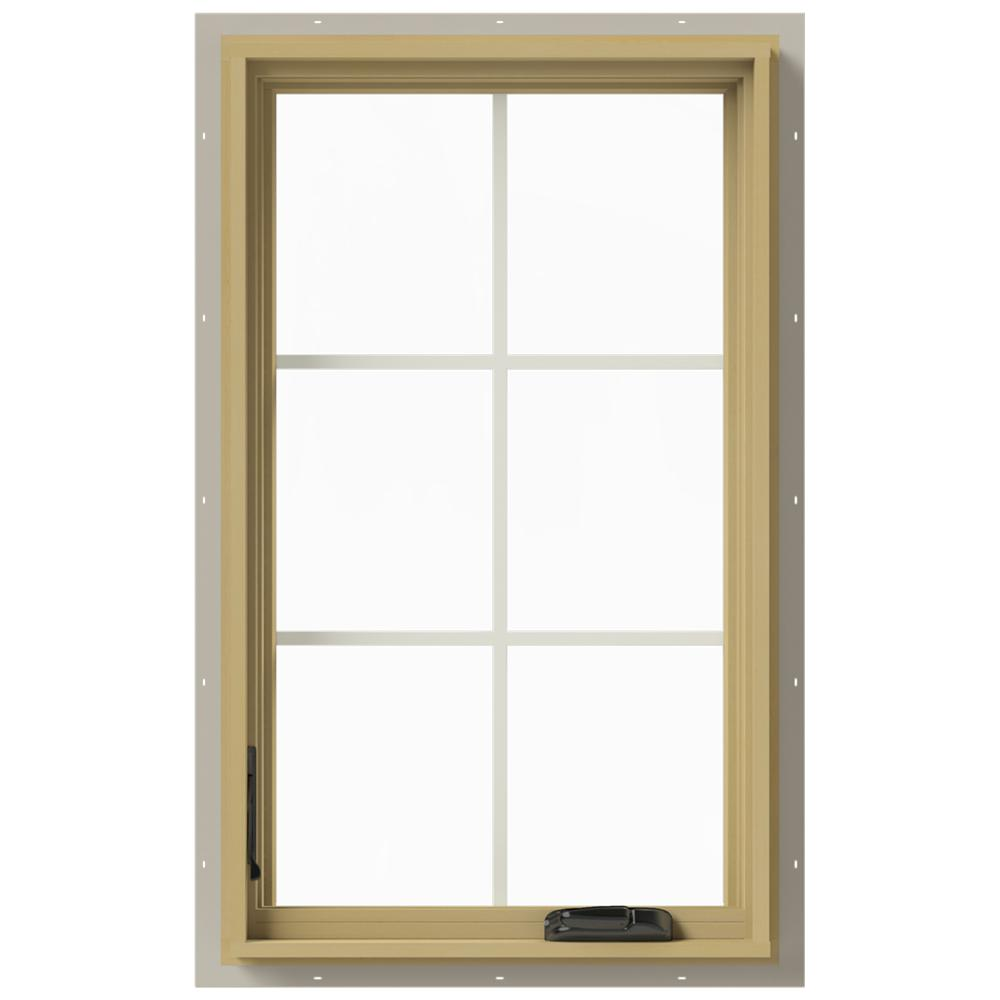 Jeld Wen 24 In X 40 In W 2500 Series Desert Sand Painted