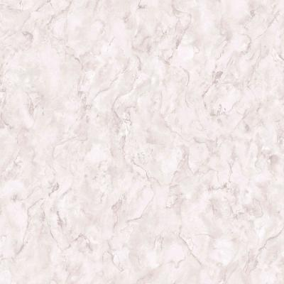 Marble Grey and Rose Gold Removable Wallpaper Sample