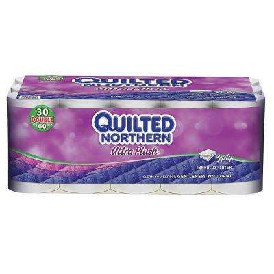 Plush Bathroom Tissue 3-Ply (30-Pack)