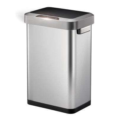 Horizon Stainless Steel 45 Liter/11.9 Gallon Motion Sensor Trash Can