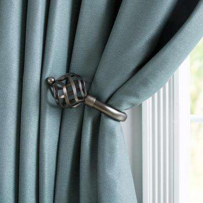 leno magnaclips amazon set or curtain of magnetic clips holdbacks wood buckle com tiebacks dp