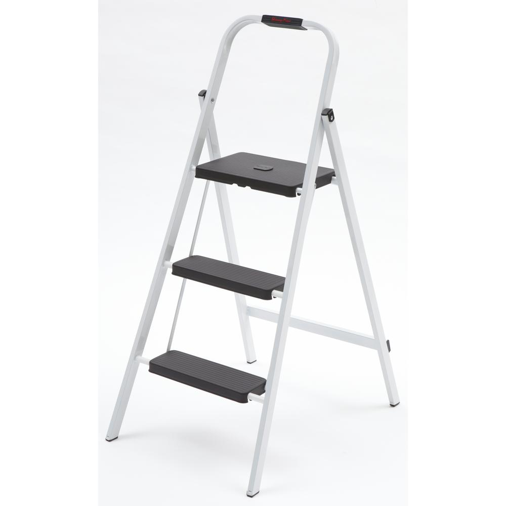 Gorilla Ladders 3 Step Steel Ladder With 250 Lb Load