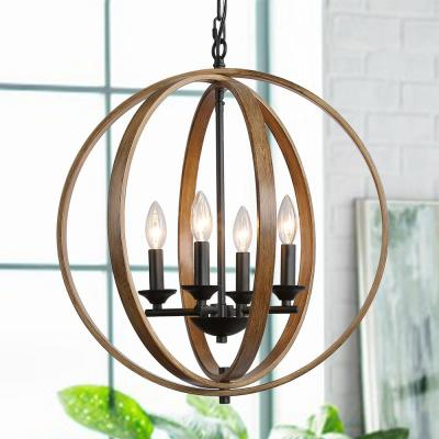 Circle Chandeliers Lighting The Home Depot