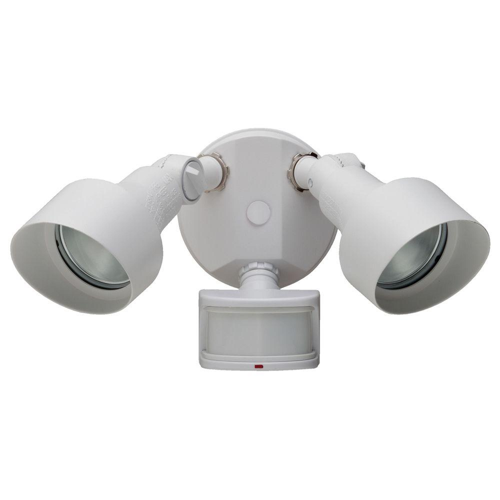 Defiant 270 Degree White Motion Outdoor Security Light