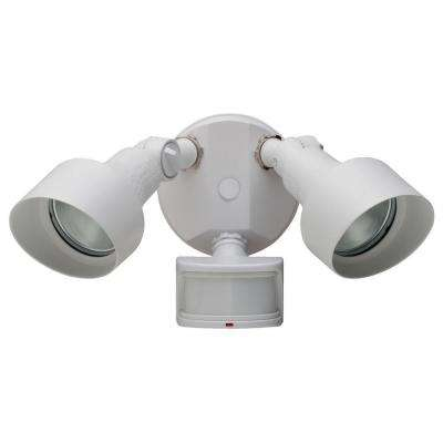 270-Degree White Motion Outdoor Security-Light