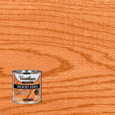 8 oz. Traditional Cherry Premium Fast Dry Interior Wood Stain (4-Pack)