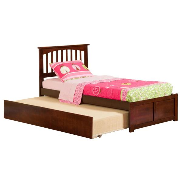Atlantic Furniture Concord Full Platform Bed With Flat