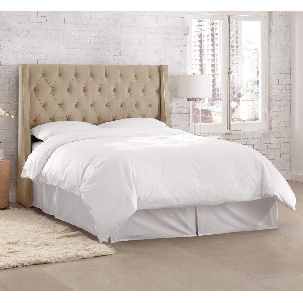 Willow Brown Queen Headboard 152qmstmnd The Home Depot