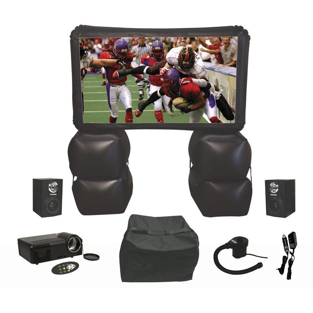 Sima 72 in. Inflatable Indoor/Outdoor Home Theater Kit