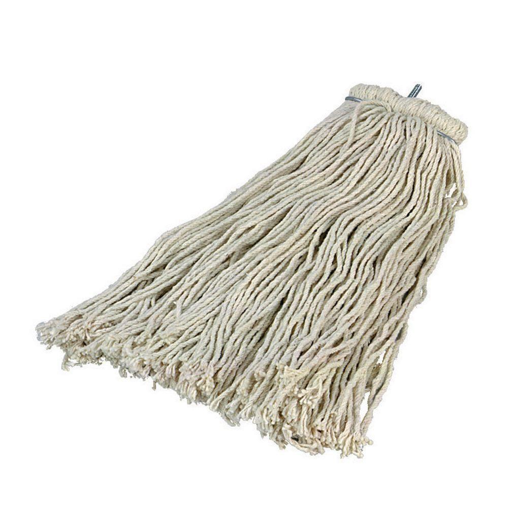 #24 Kwik-On Screw-On Cotton Mop (Case of 12)