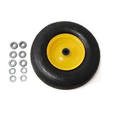 Pneumatic RZT Wheel Assembly for Lawn and Garden