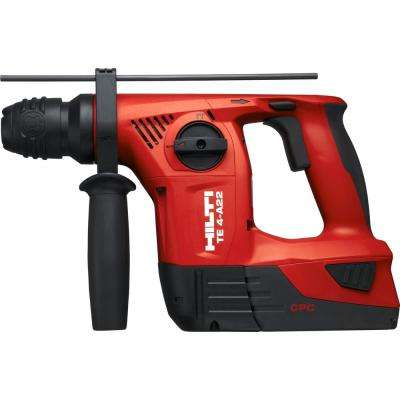 TE 4 22-Volt Lithium-Ion SDS-Plus Cordless Rotary Hammer Drill