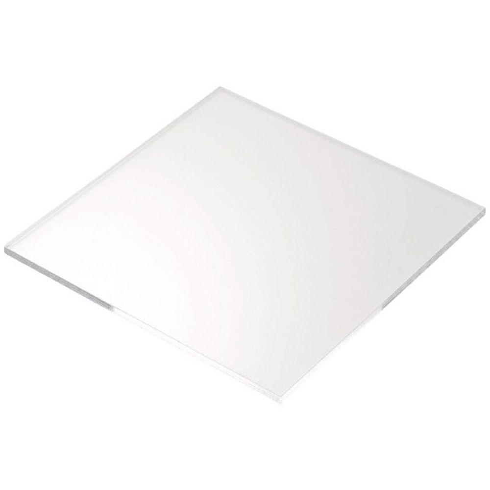 Plexiglas 24 in. x 24 in. x 0.093 in. Clear Acrylic Sheet