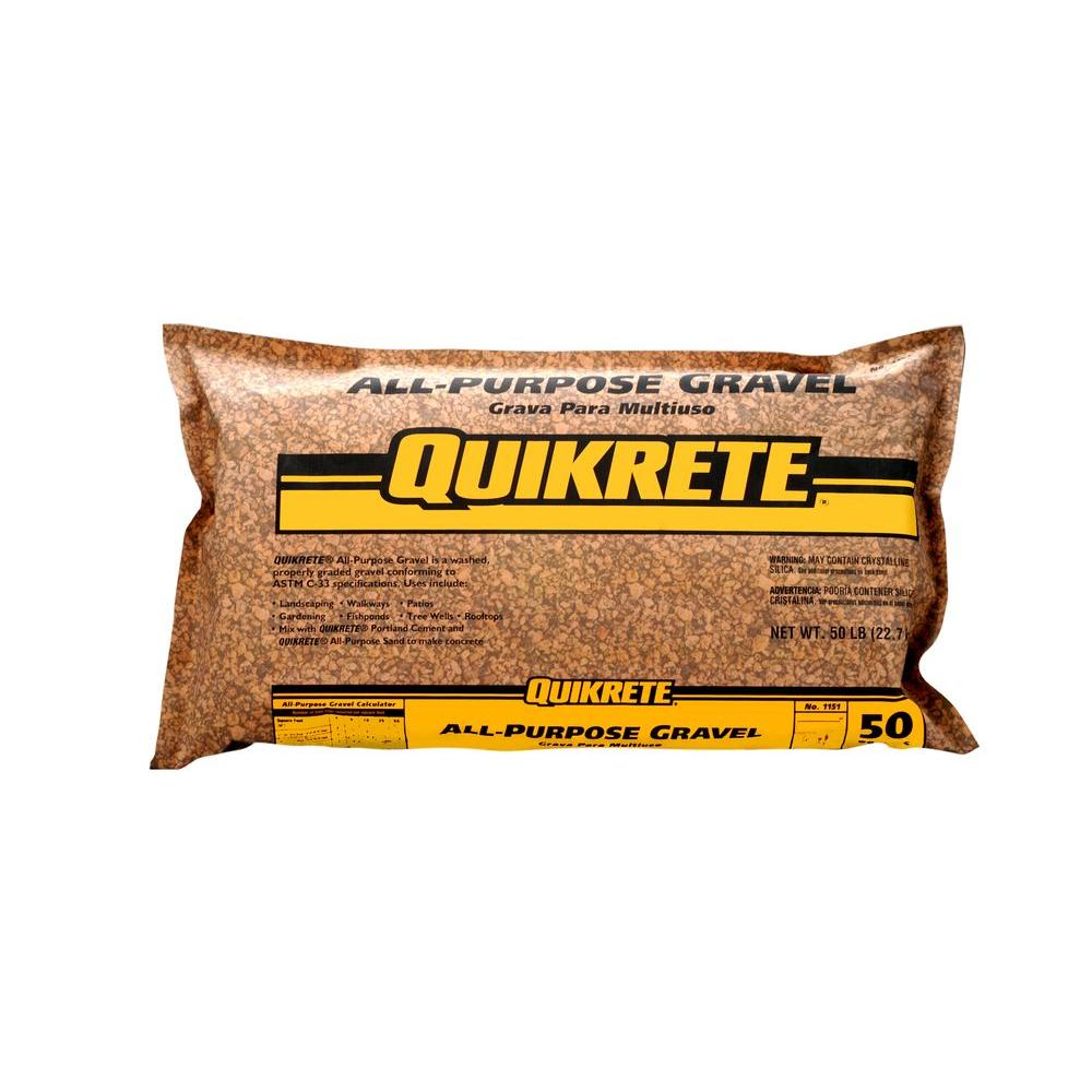 Quikrete 50 lb  All-Purpose Gravel