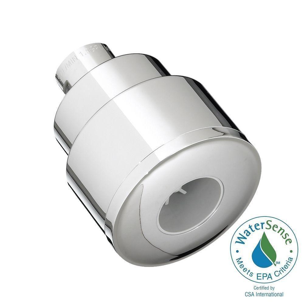 American Standard FloWise Modern Water-Saving 1-Spray 2.5 in. Showerhead in Polished Chrome