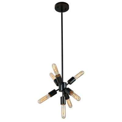 Anemone 7-Light Bronze Chandelier