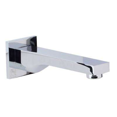 Single-Handle Spout with sleek modern design, Polished Chrome