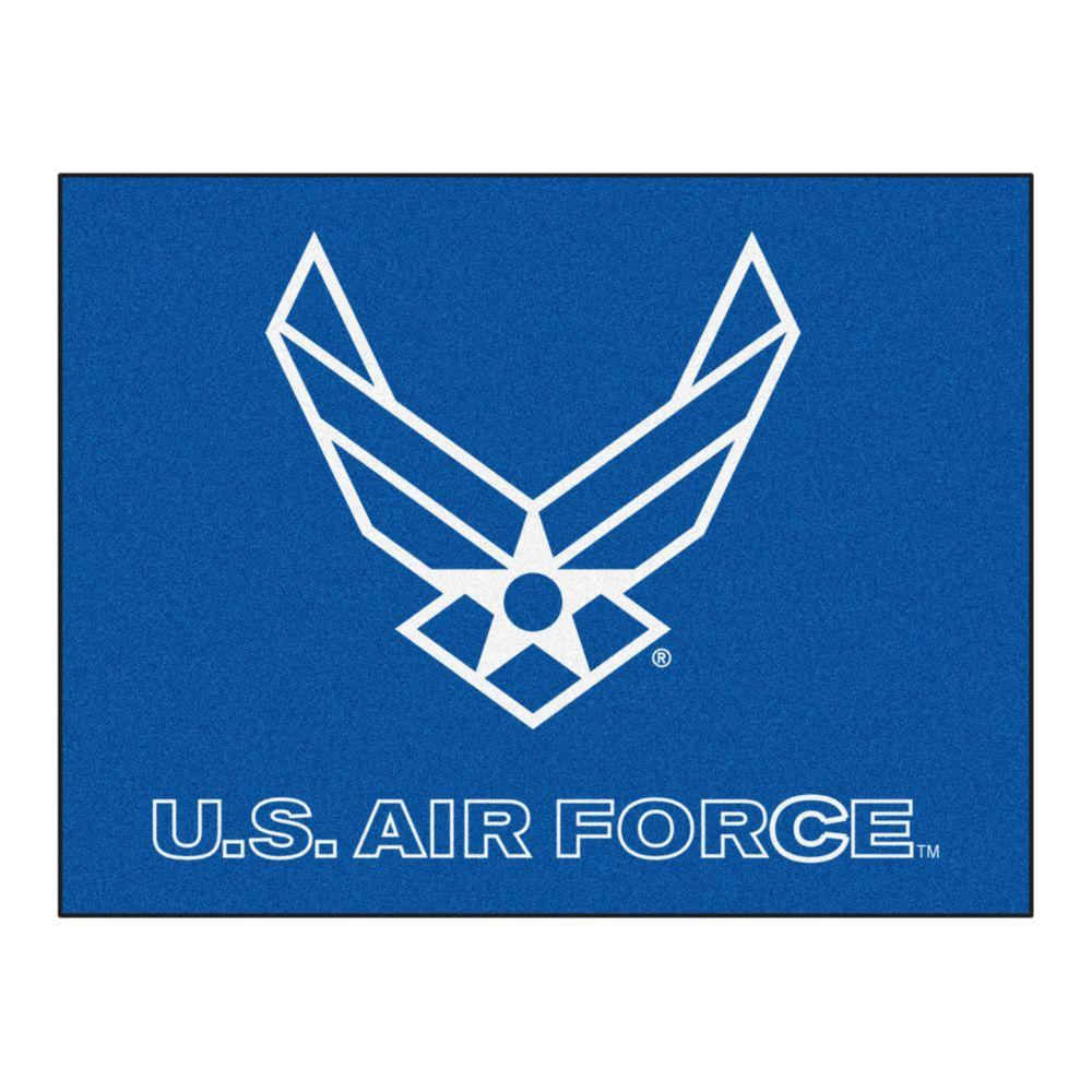 FANMATS U.S. Air Force 3 ft. x 4 ft. All-Star Rug