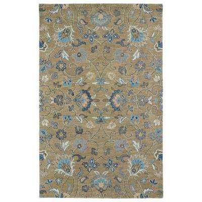 Helena Light Brown 5 ft. x 7 ft. 9 in. Area Rug