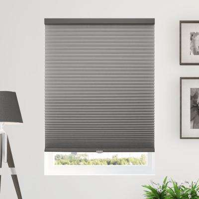 Cut to Width Morning Fog (Privacy and Light Filtering) Cordless Cellular Shade - 72 in. W x 64 in. L
