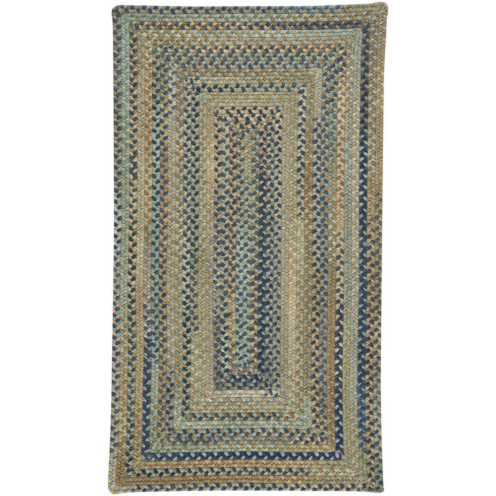Capel tooele green 8 ft x 11 ft concentric area rug for Depot home furniture warehouse tooele